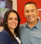Carlos Campos y catalina madrigal